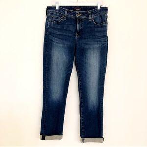 NYDJ Classic Boyfriend Cuffed Jeans